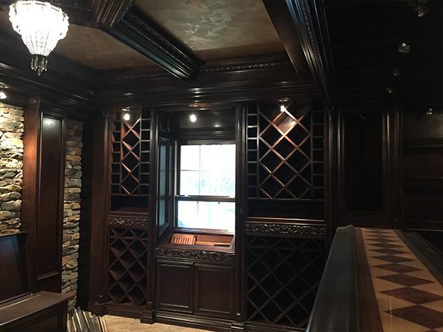 Grand Interiors NJ Wine Cellars